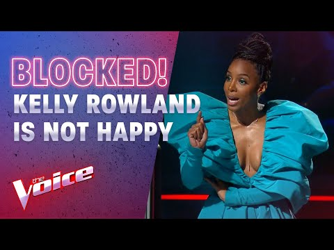 The Blind Auditions: Kelly Rowland Blows Up After Being Blocked | The Voice Australia 2020