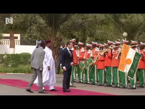 French president Emmanuel Macron is expected to reveal the plans after holding talks with Niger's president