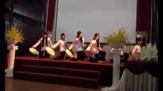 Giải Nhất múa Quê Tôi lớp 9E THCS Eayông 2014 - 2015