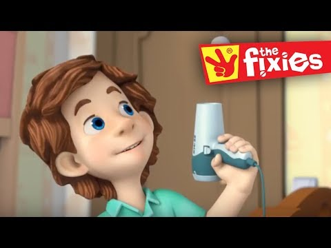 The Fixies ★ The Hair Dryer - Plus More Full Episodes ★ Fixies English | Cartoon For Kids