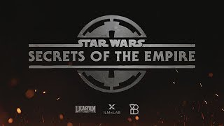 VIDEO: STAR WARS: SECRETS OF THE EMPIRE – New VR Attraction at Disney