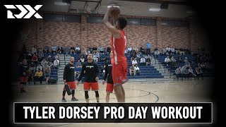Tyler Dorsey Octagon Pro Day Workout Video