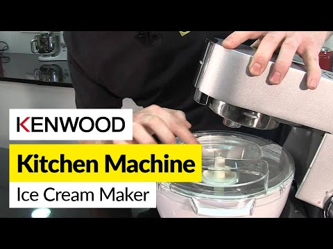 How to use an ice cream maker- Kenwood