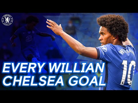 Every Willian Goal For Chelsea!   Thank You Willian