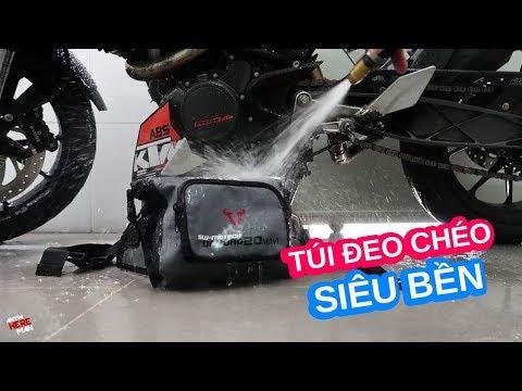 Túi đeo chéo chống nước SW-Motech siêu bền cho anh em biker - Thời lượng: 7 phút, 40 giây.