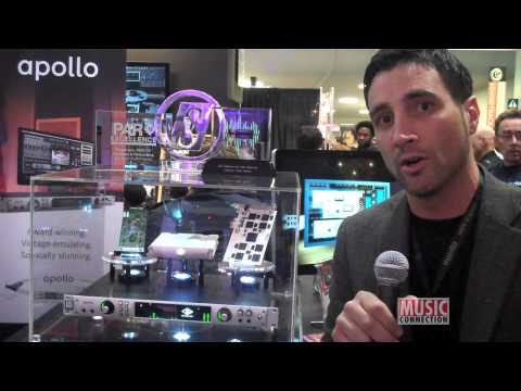 Universal Audio displays new products at 2013 NAMM