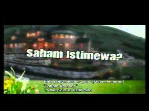 Promo Halaqah Sentuhan Qalbu 1 Saham Amanah Raudhah @ Tv9! 17 5 2011