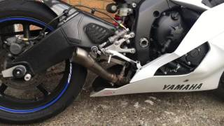 4. Akrapovic Megaphone Exhaust - 2010 Yamaha R6
