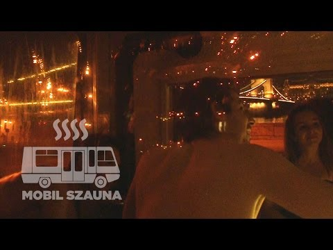 Mobil szauna, szauna busz Budapest