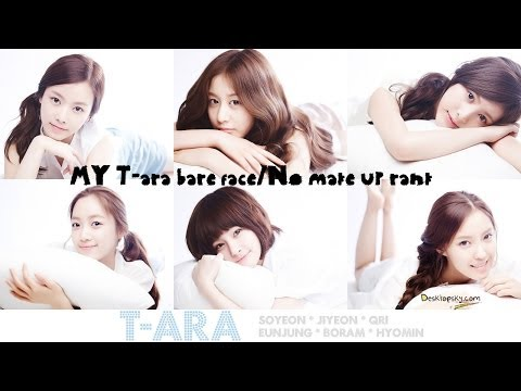 MY T-ara bare face/No make up rank (видео)