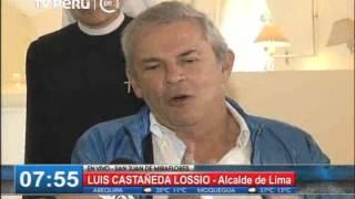 Castañeda responde por Metropolitano, Corredor Javier Prado y By-pass de 28 de Julio