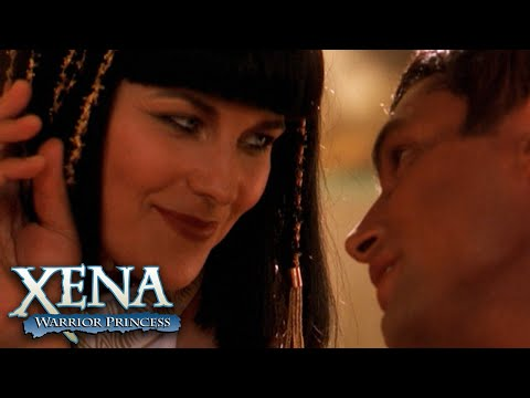 Xena and Antony's First Kiss | Xena: Warrior Princess
