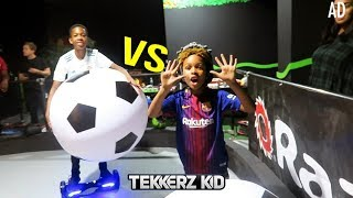 Download Lagu EPIC HOVERBOARD FOOTBALL CHALLENGE!! Mp3