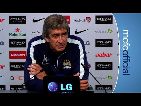 Video: MANUEL ON MANGALA | City v Sheff Weds Press Conference Part 2