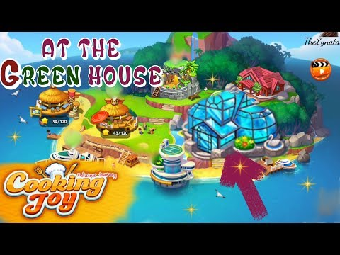 Cooking Joy /Welcome To The Green House /Levels 1, 5 ,15, 22, 23, 30