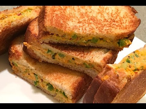 Cream Cheese Sandwich | Cream Cheese Sandwich With Cucumber | Cucumber Sandwich | Sandwich Recipes