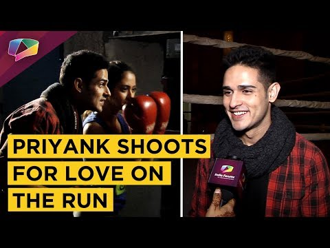 Priyank Sharma Shoots For Love On The Run | Hair &