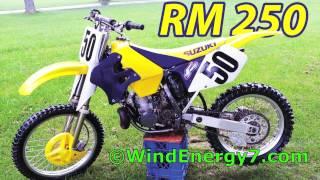 10. Suzuki RM 250 for sale like RM250 RM-Z250