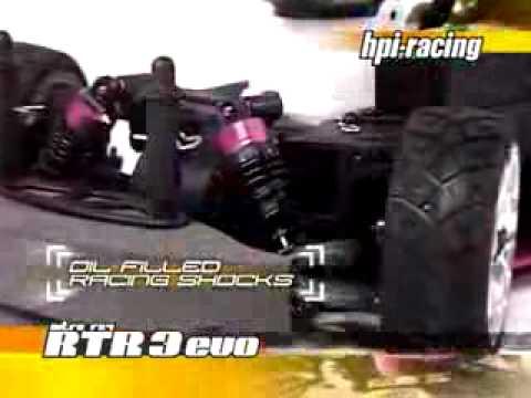 Смотреть видео HPI Nitro 3 RC4 Evo+ Ford '66 Mustang GT