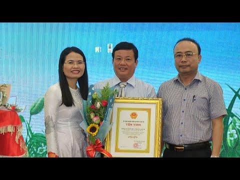 UBND huyện Chư Sê Tôn vinh và tặng giấy khen cho Doanh nghiệp
