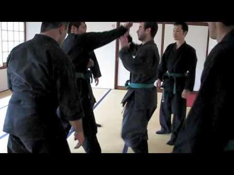 京都忍術不動心道場NINJUTSU IN JAPAN-TOGAKURE-RYU NINPO LESSON 1