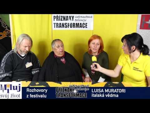 Luisa Muratori na festivalu Miluj svůj život