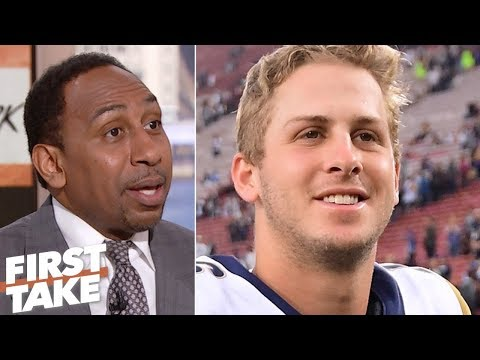 Stephen A: Rams need to host playoff games to win in postseason   First Take