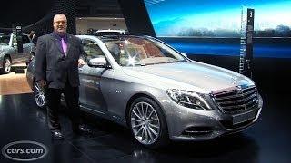 2015 Mercedes-Benz S600 -- 2014 Detroit Auto Show