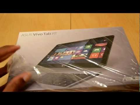 Asus Vivo Tab RT TF600 Unboxing