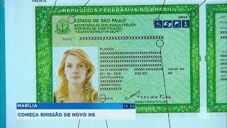 Marília: começa emissão do novo RG que unifica vários documentos