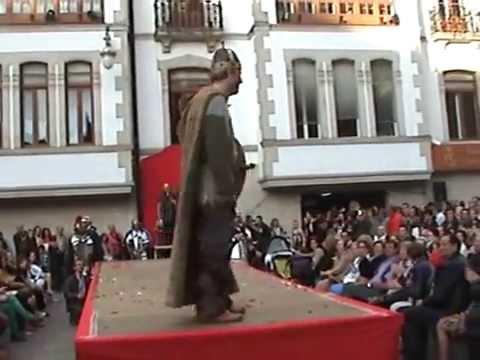Desfile de moda Arde Lucus 2012 Jefe guerrero celta