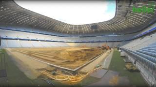 Video FC Bayern München - Umbau der Allianz Arena 2014 mit heiler MP3, 3GP, MP4, WEBM, AVI, FLV Maret 2019