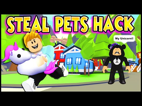 HACK To STEAL PETS & PEOPLE in Adopt Me!! Working TIK TOK HACKS in Adopt Me!! PREZLEY