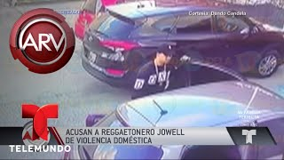 Imágenes de fuerte discusión entre Jowell y su pareja   Al Rojo Vivo