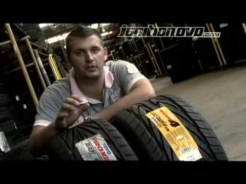 toyo tyres - Ignition DVD talks about tyres using Toyo products as examples.