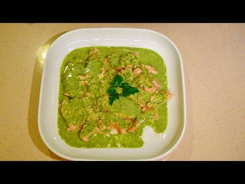 "Salmone in ""salsa verde"""