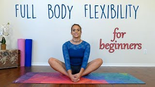 ♥ Help Support This Channel @ http://www.patreon.com/psychetruth130+ Exclusive Videos @ http://www.psychetruthpatrons.com ↓ Follow Me! Social Media Links Below ↓Stretches for the Inflexible! Complete Beginners Flexibility with Nico  Dance, GymnasticsNico shares a stretch routine to help improve flexibility for dance, cheerleading, gymnastics and more.  This workout can be a warm up to help you prepare for splits, scorpion and deeper stretching, or it can be a great stretch routine on its own.Follow our Social Media https://www.instagram.com/psychetruthhttp://www.facebook.com/psychetruthvideoshttp://www.pinterest.com/psychetruthhttp://www.twitter.com/psychetruthhttp://www.youtube.com/psychetruthhttp://www.psychetruth.netRelated Videos Stretches for the Inflexible! Complete Beginners Flexibility with Nico  Dance, Gymnasticshttps://www.youtube.com/watch?v=-VS6jgTTYAQFlexibility Stretches For Dancers, Cheerleaders, Ballet, Gymnasts & The Splits Beginners Exercises https://www.youtube.com/watch?v=A16zIcbR5sU12 Minute Splits Stretch Flexibility Workout For Beginners How To Tutorial For The Splits https://www.youtube.com/watch?v=qZTGgEWPbLk10 Minute Beginners Workout, Full Body Flexibility Stretches, At Home Stretching Routine Exercises https://www.youtube.com/watch?v=9jAyRP0bqKAMusic By iChill Music Factoryhttp://www.ichillmusic.com Songs: Natural BeautyAlbum: Natural Beauty© Copyright 2017 Target Public Media, LLC. All Rights Reserved.