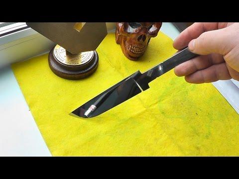 Как сделать металл для ножа в домашних условиях