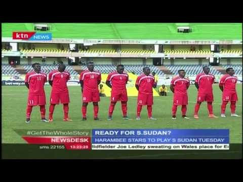 Harambee stars are ready for their debut today with Sudan at the Kasarani Safaricom Stadium