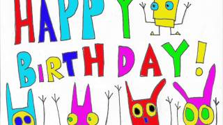 David Gerbstadt art work to say happy birthday to your friends, family or anyone you know.