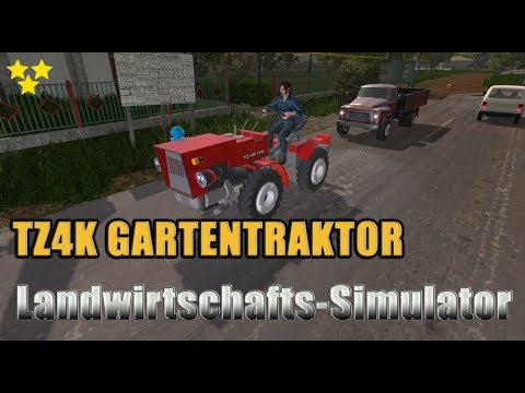 TZ4K garden tractor v1.1