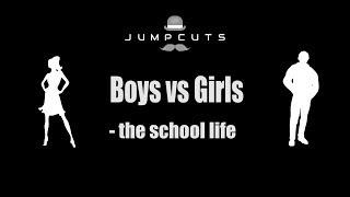 Video Boys vs Girls - the school life MP3, 3GP, MP4, WEBM, AVI, FLV November 2017