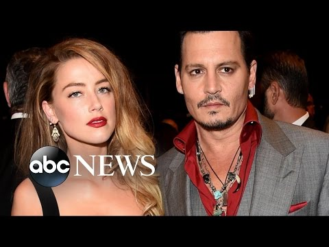Johnny Depp Ordered to Temporarily Stay Away from Estranged Wife Amber Heard