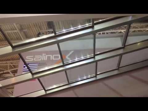 Slide opening glazed roof SUNNY