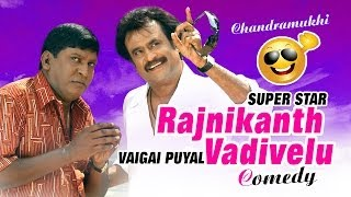 Chandramukhi comedy scenes - Rajinikanth, Vadivelu comedy videos