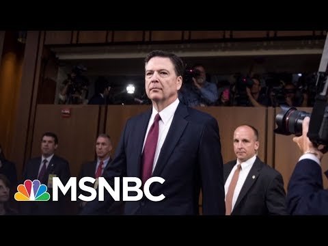 Ron Hosko: 'James Comey I Knew And Worked With Is An Ethical Moral Man'   Velshi & Ruhle   MSNBC