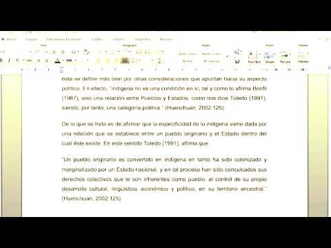 Video Tutorial ¿Cómo Integrar Citas Textuales En Un Ensayo?