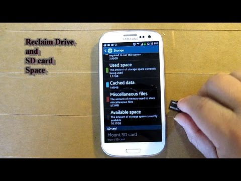 how to get more space on galaxy s