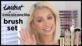 tarteist™ x @NicolConcilio brush set