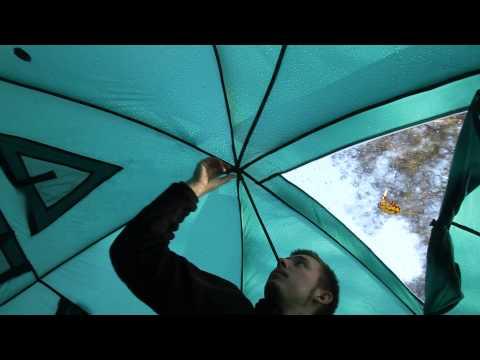 Палатка Greenеll «Гранард 6». Видеообзор.